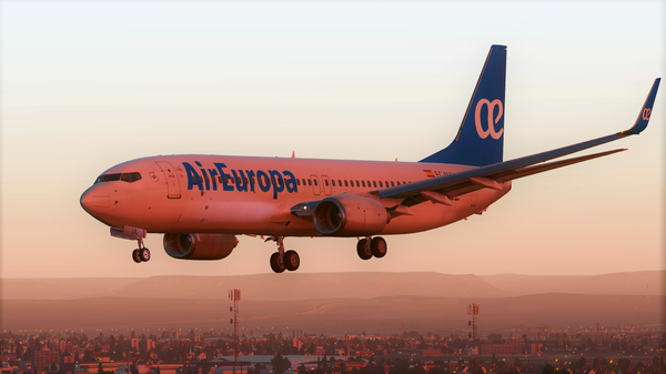 Air Europa in Madrid