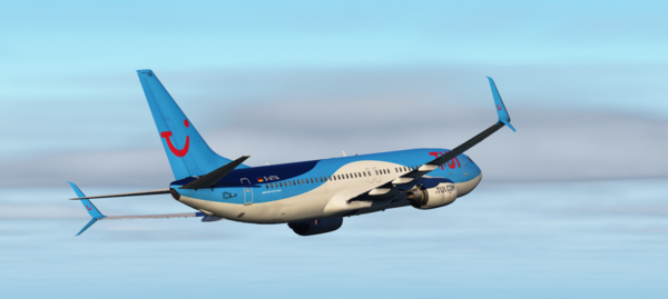 TUIFly 737-800 out of Innsbruck